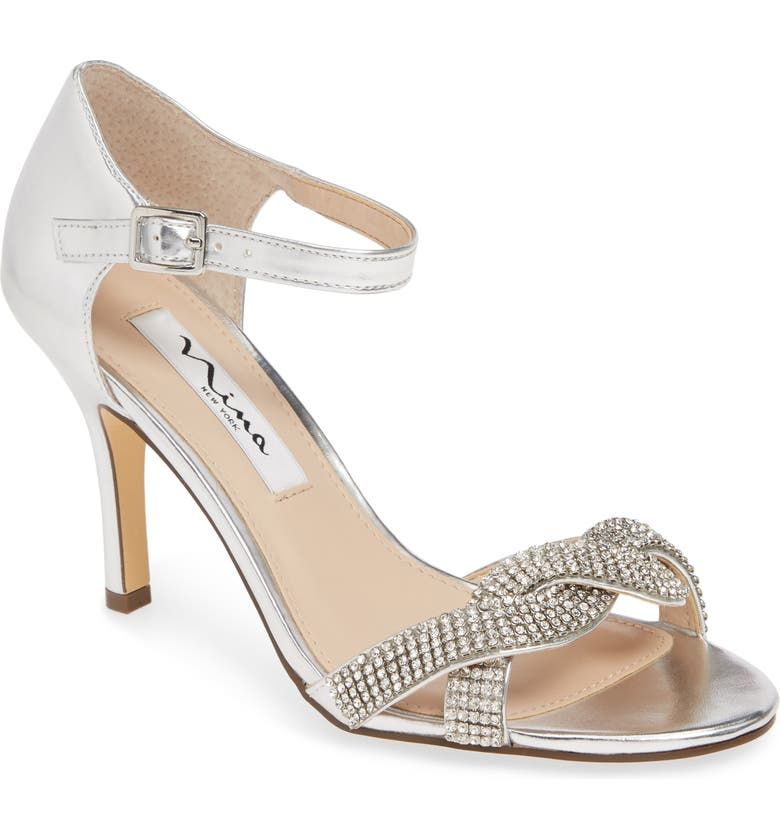NINA Valency Crystal Embellished Sandal, Main, color, 044