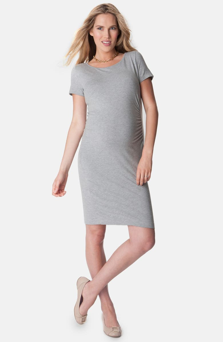 Seraphine Giovanna Ruched Maternity T Shirt Dress Nordstrom