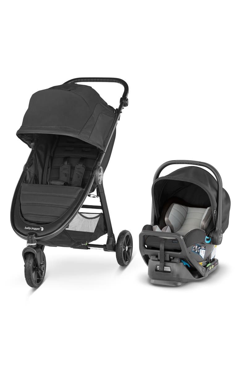 BABY JOGGER City Mini<sup>®</sup> GT2 Stroller & City GO<sup>™</sup> 2 Infant Car Seat Travel System, Main, color, 001