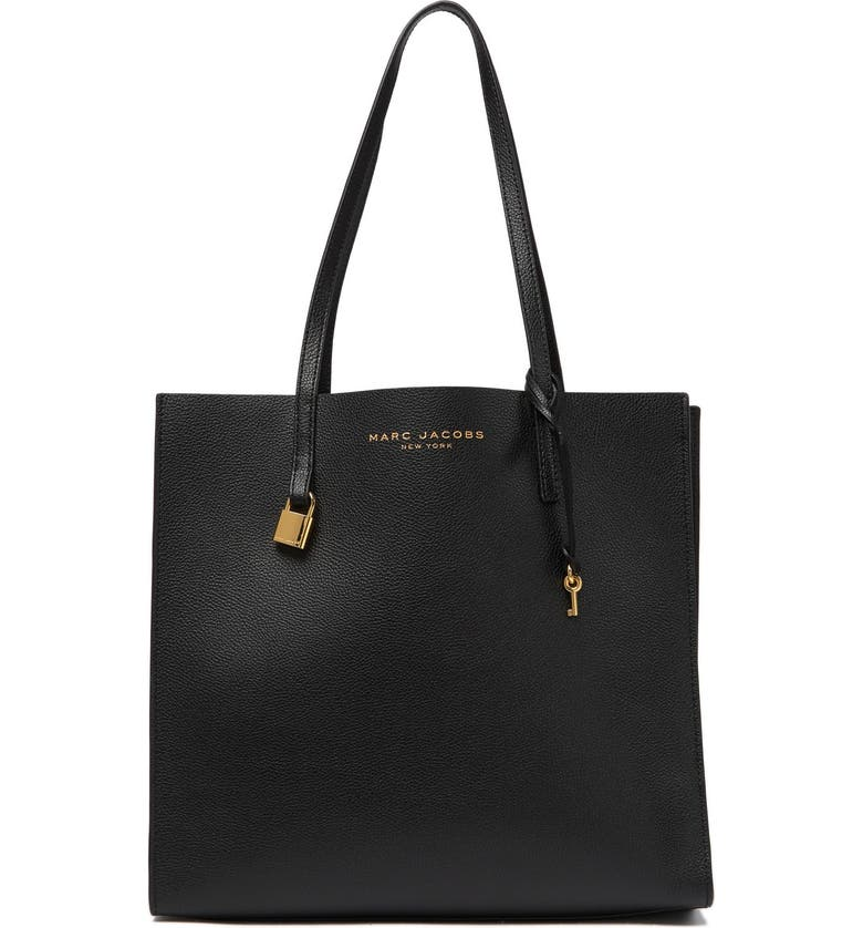 MARC JACOBS The Grind Tote, Main, color, BLACK