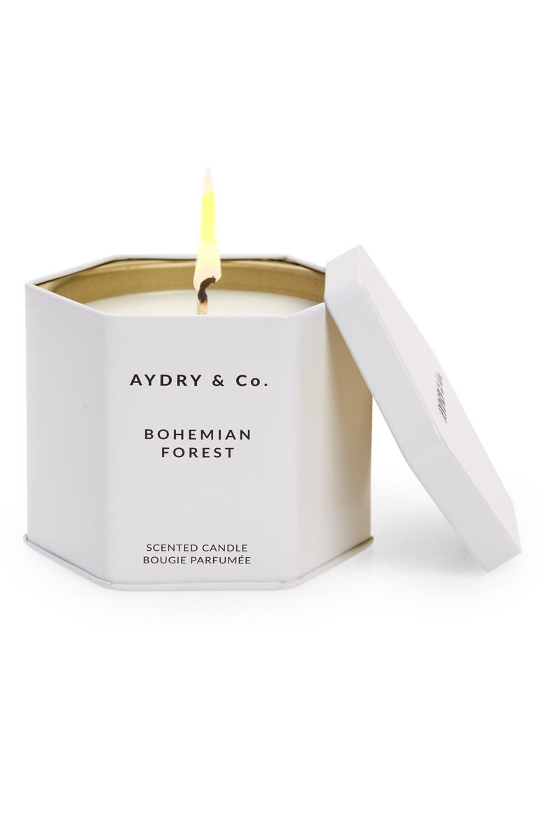 AYDRY AND CO AYDRY & Co. Bohemian Forest Scented Candle, Main, color, NO COLOR
