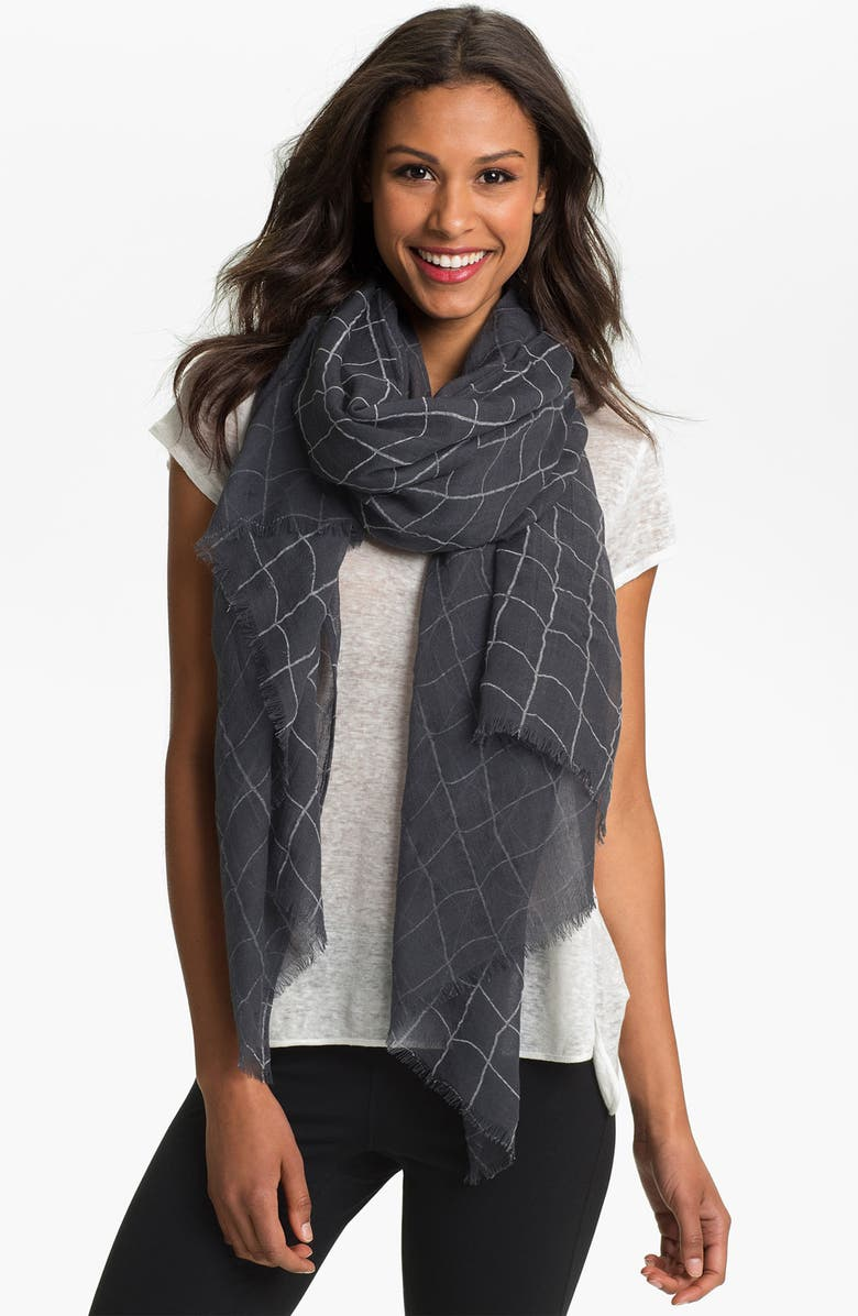 ROFFE ACCESSORIES Wool Scarf, Main, color, 020