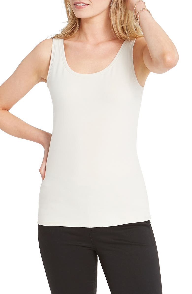 NIC+ZOE Perfect Tank, Main, color, PUTTY