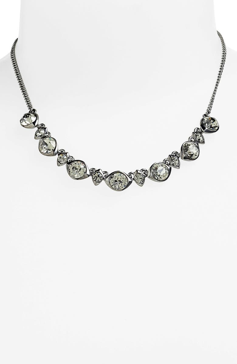 GIVENCHY Crystal Necklace, Main, color, 020