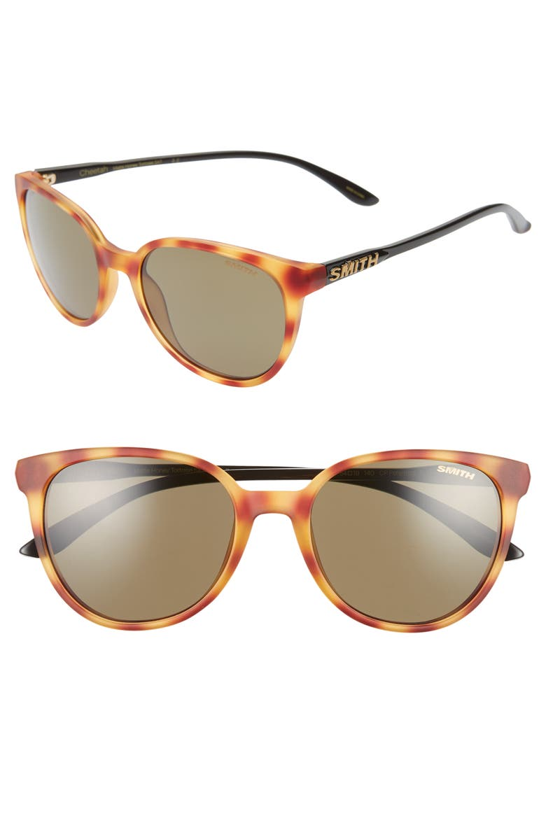 SMITH Cheetah 53mm ChromaPop<sup>™</sup> Polarized Sunglasses, Main, color, 240