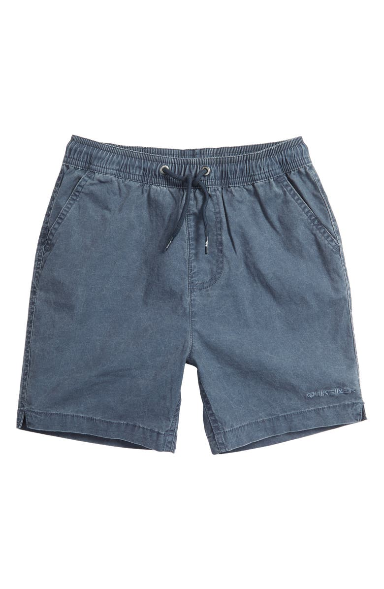 QUIKSILVER Drawstring Shorts, Main, color, BLUE NIGHTS