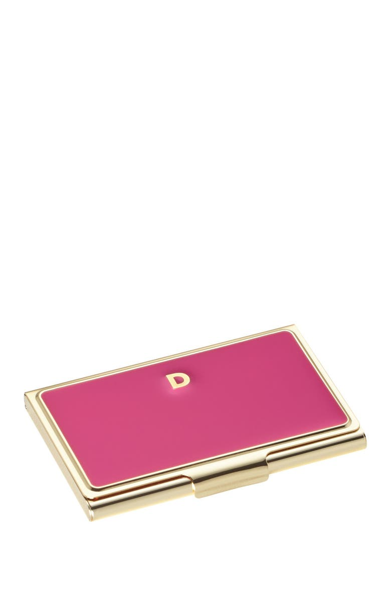 KATE SPADE NEW YORK 'one in a million' business card holder, Main, color, 000