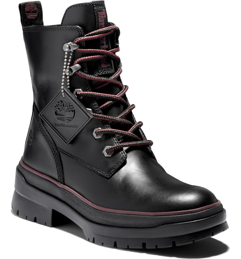TIMBERLAND Malynn Mid Waterproof Boot, Main, color, 001