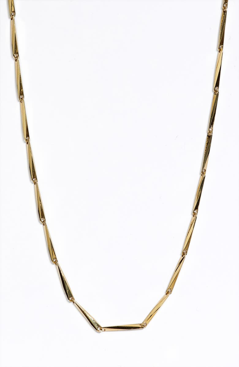 JENNY BIRD Sunbeam Choker Necklace, Main, color, HIGH POLISH GOLD X