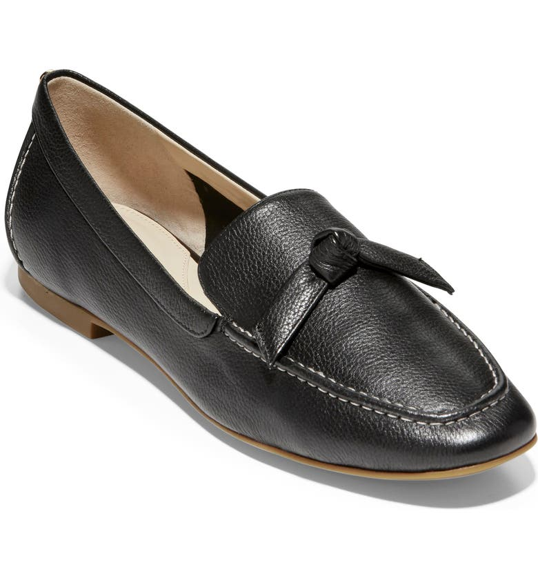 COLE HAAN Caddie Bow Loafer, Main, color, 001