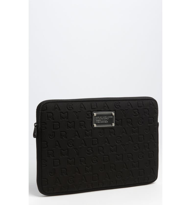 MARC JACOBS MARC BY MARC JACOBS 'Dreamy' Laptop Sleeve, Main, color, 001