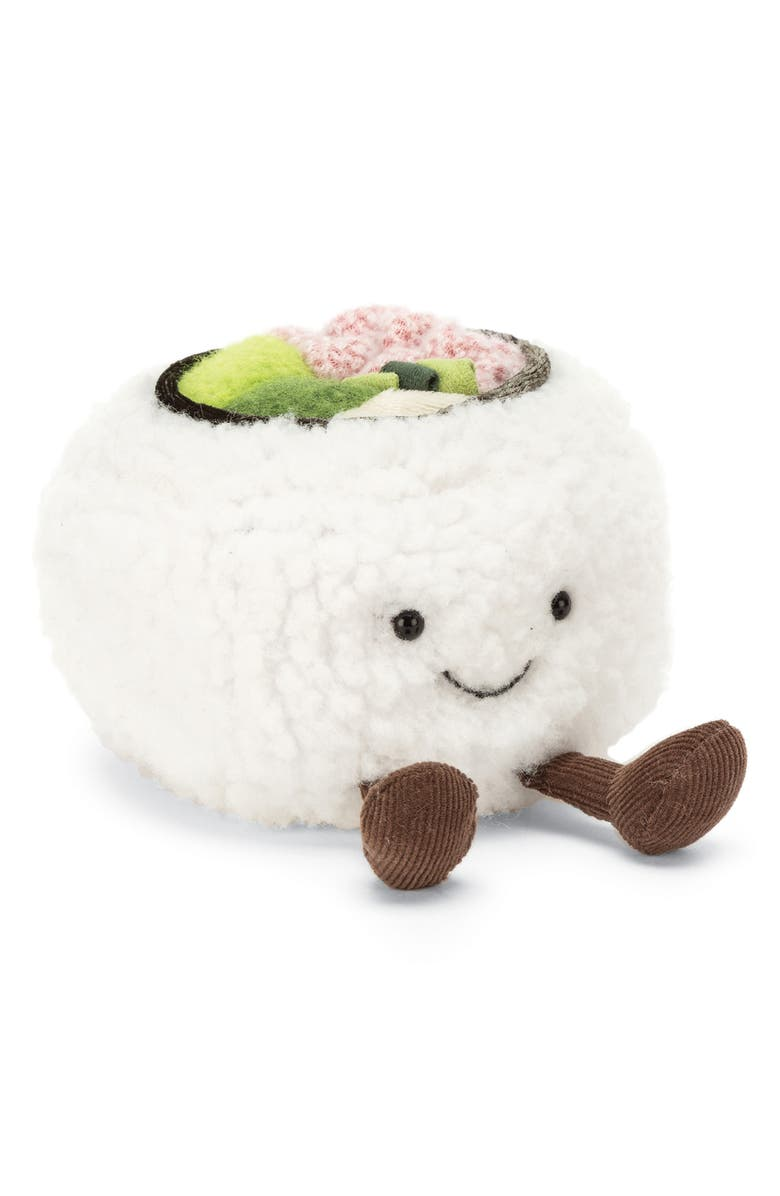 JELLYCAT Silly Sushi California Roll Plush Toy, Main, color, 100
