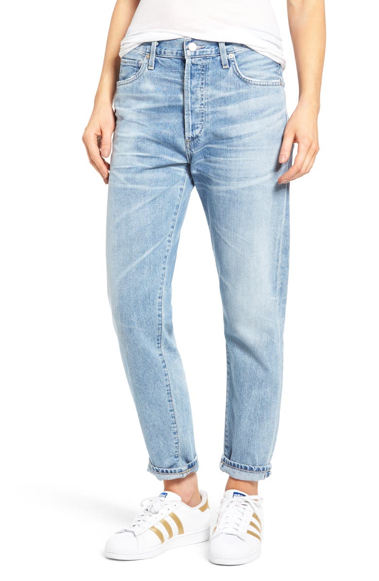 CITIZENS OF HUMANITY Liya High Waist Jeans, Main, color, 455