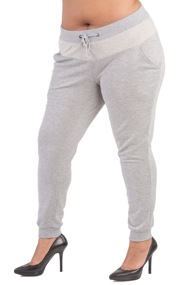 POETIC JUSTICE Savannah French Terry Jogger Pants, Main, color, 025