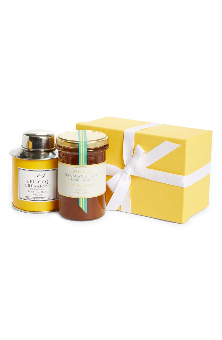 BELLOCQ Sweet Blossom Honey & Morning Tea Collection Gift Set, Main, color, NO COLOR