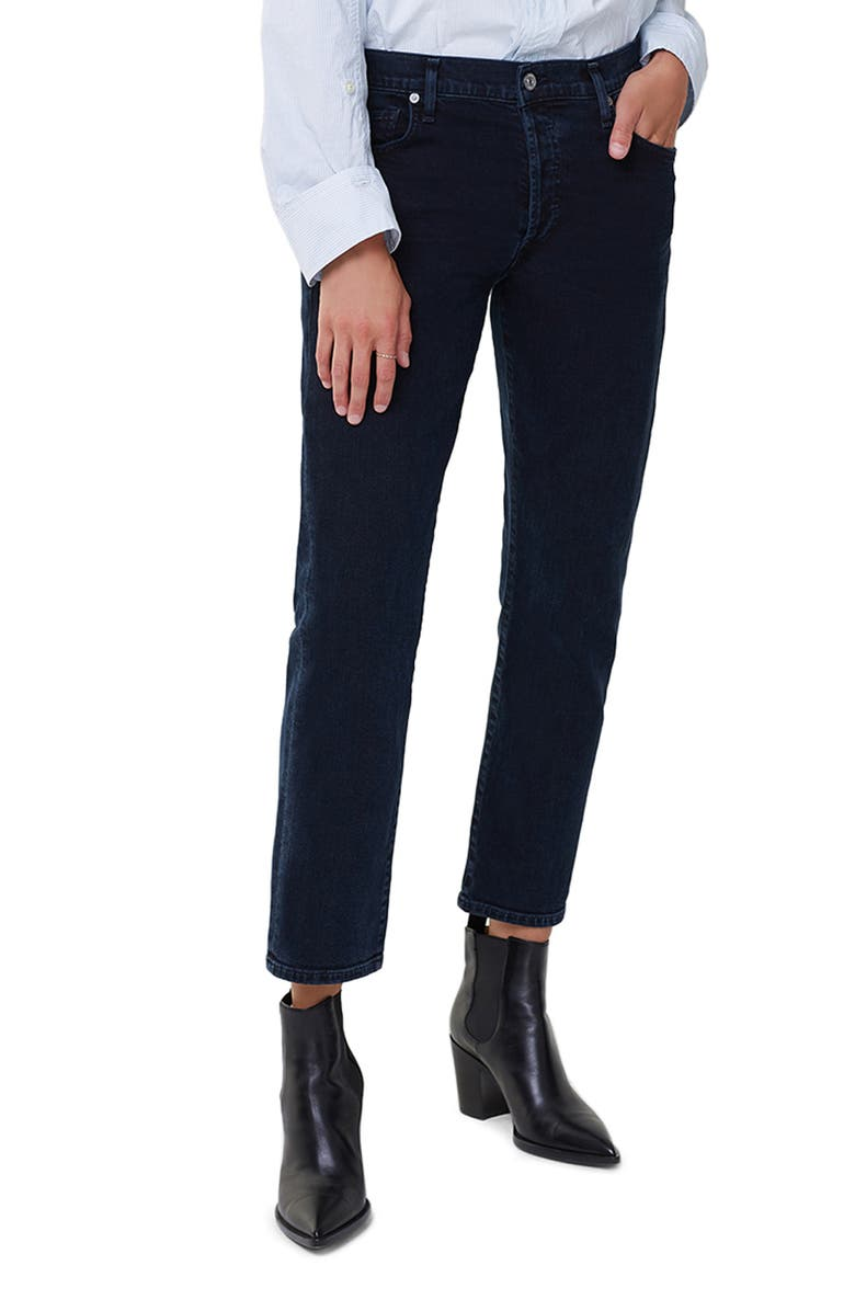 CITIZENS OF HUMANITY Emerson Slim Fit Boyfriend Ankle Jeans, Main, color, SERENDIPITY EMERSON