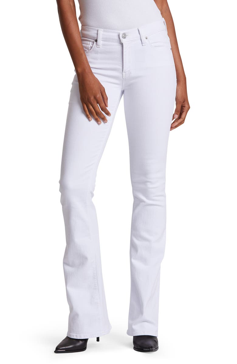 HUDSON JEANS Nico Bootcut Jeans, Main, color, WHITE