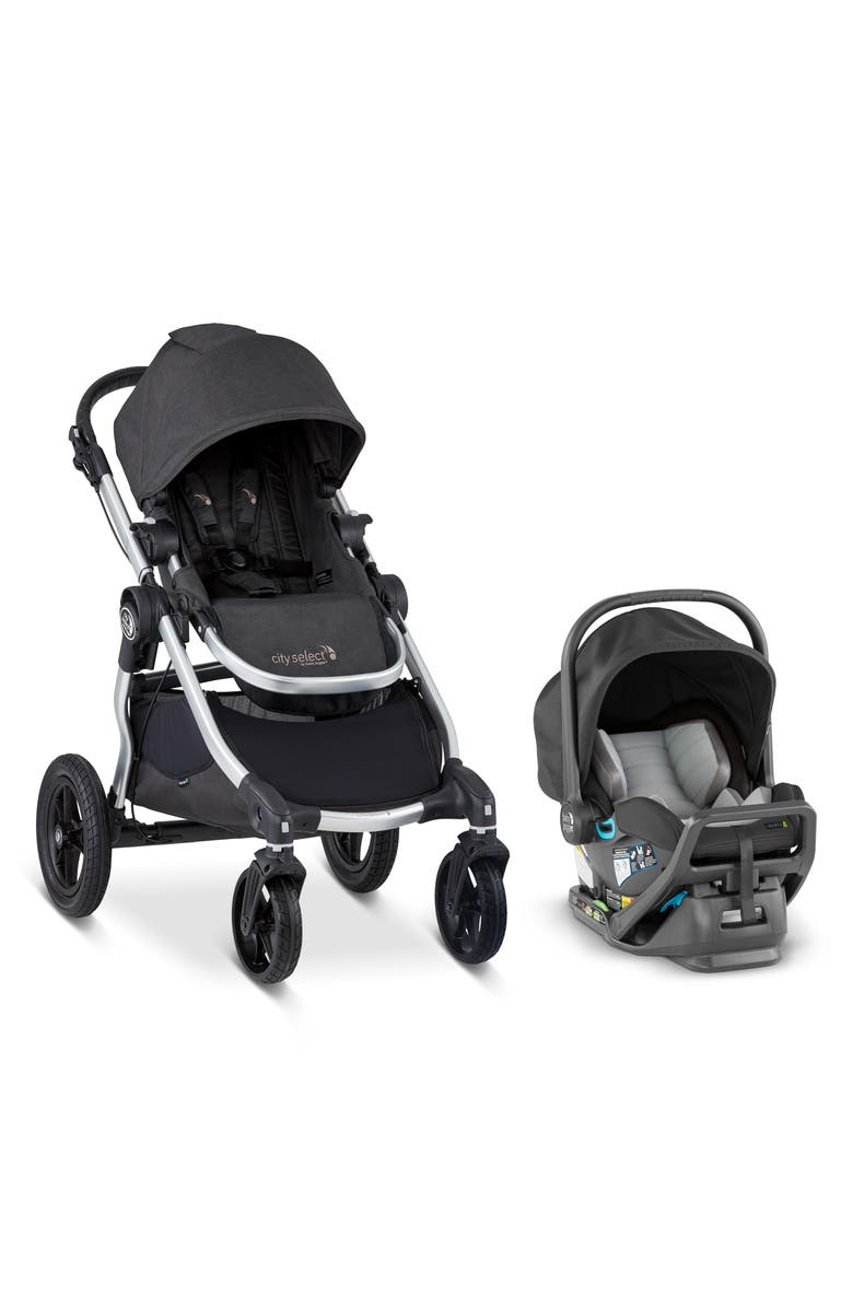 BABY JOGGER City Select<sup>®</sup> Stroller & City GO Infant Car Travel System, Main, color, JET