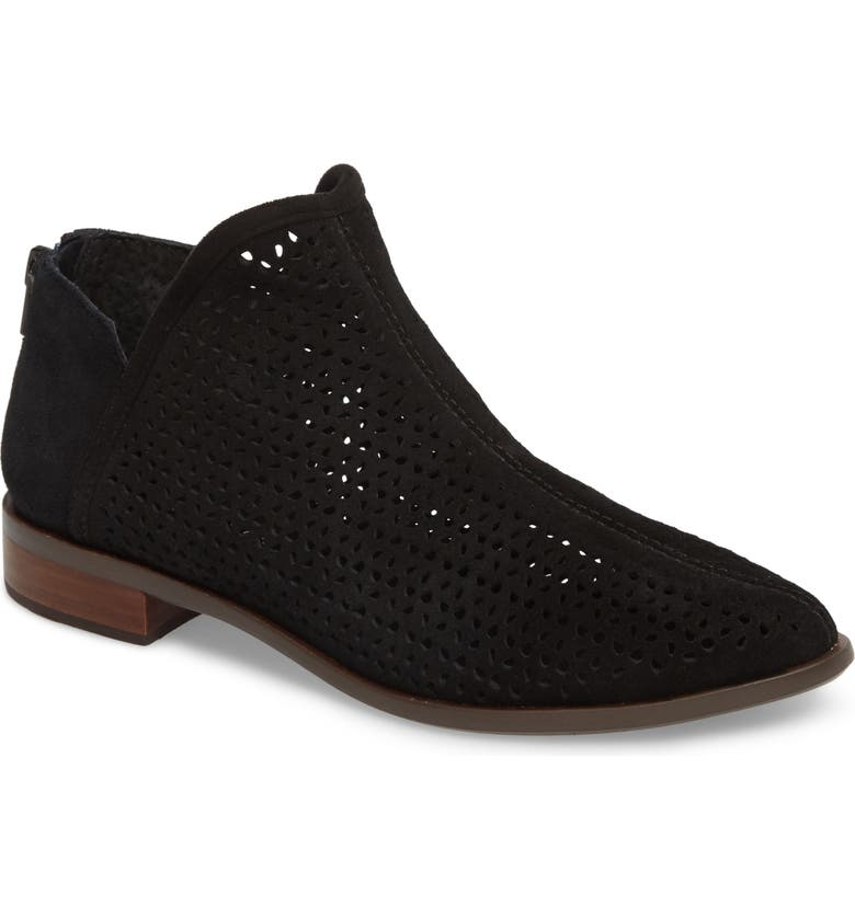 KELSI DAGGER BROOKLYN Alley Perforated Bootie, Main, color, 001
