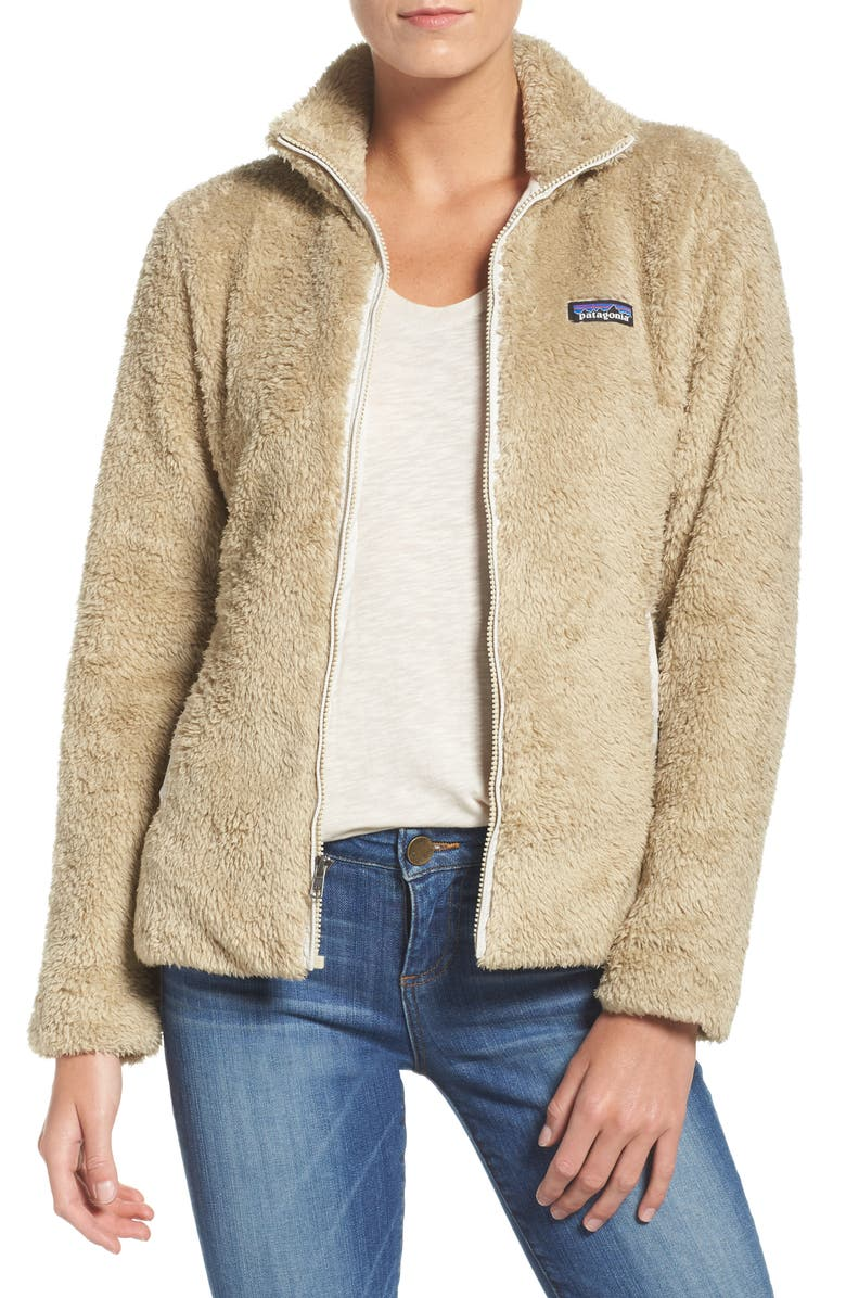 PATAGONIA Los Gatos Fleece Jacket, Main, color, EL CAP KHAKI