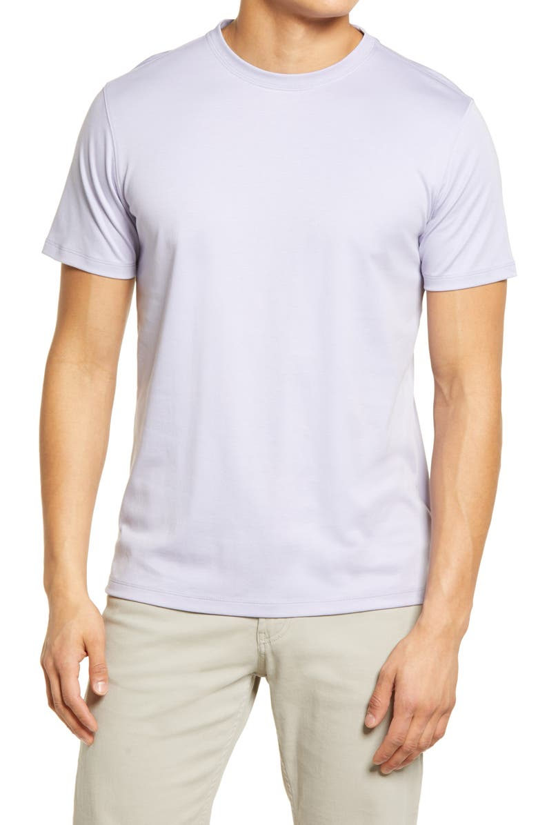 ROBERT BARAKETT Georgia Crewneck T-Shirt, Main, color, LAVENDER SUNSET