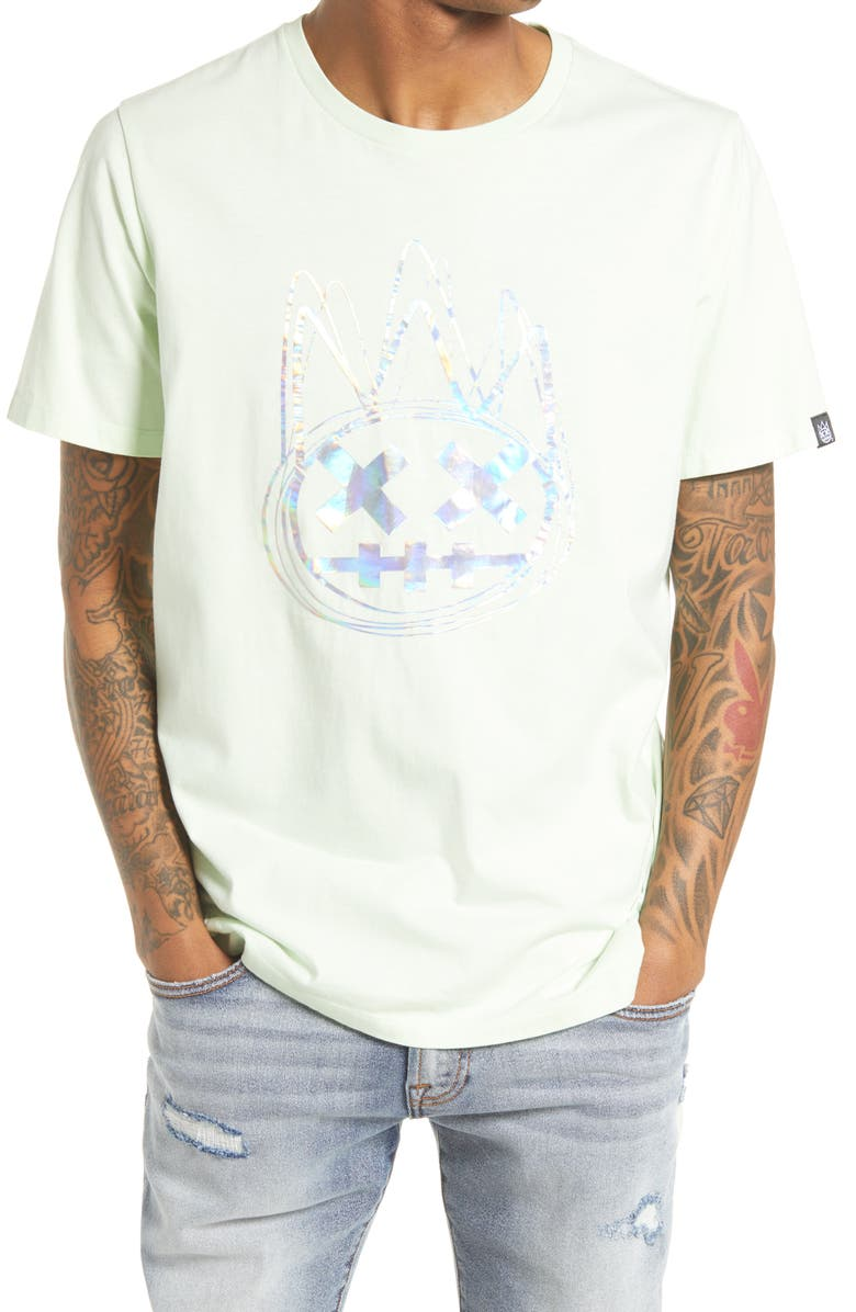 CULT OF INDIVIDUALITY Shimuchan Men's Graphic Tee, Main, color, MINT