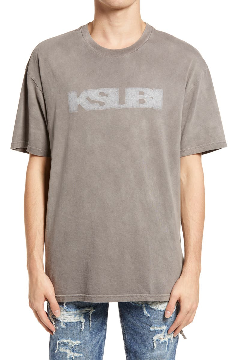 KSUBI SIgn of the Times Logo Graphic Tee, Main, color, 020