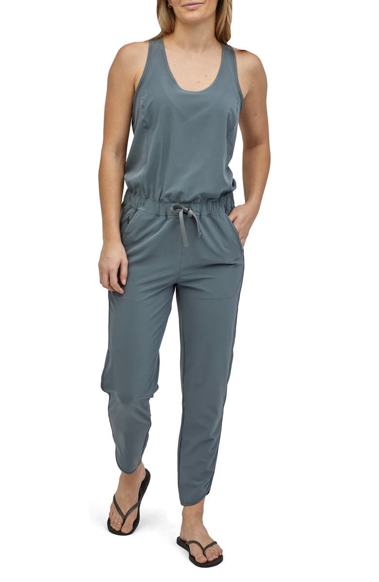 PATAGONIA Fleetwith Jumpsuit, Main, color, PLGY PLUME GREY
