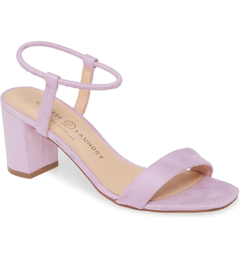 CHINESE LAUNDRY Yummy Sandal, Main, color, LOVELY LILAC SUEDE