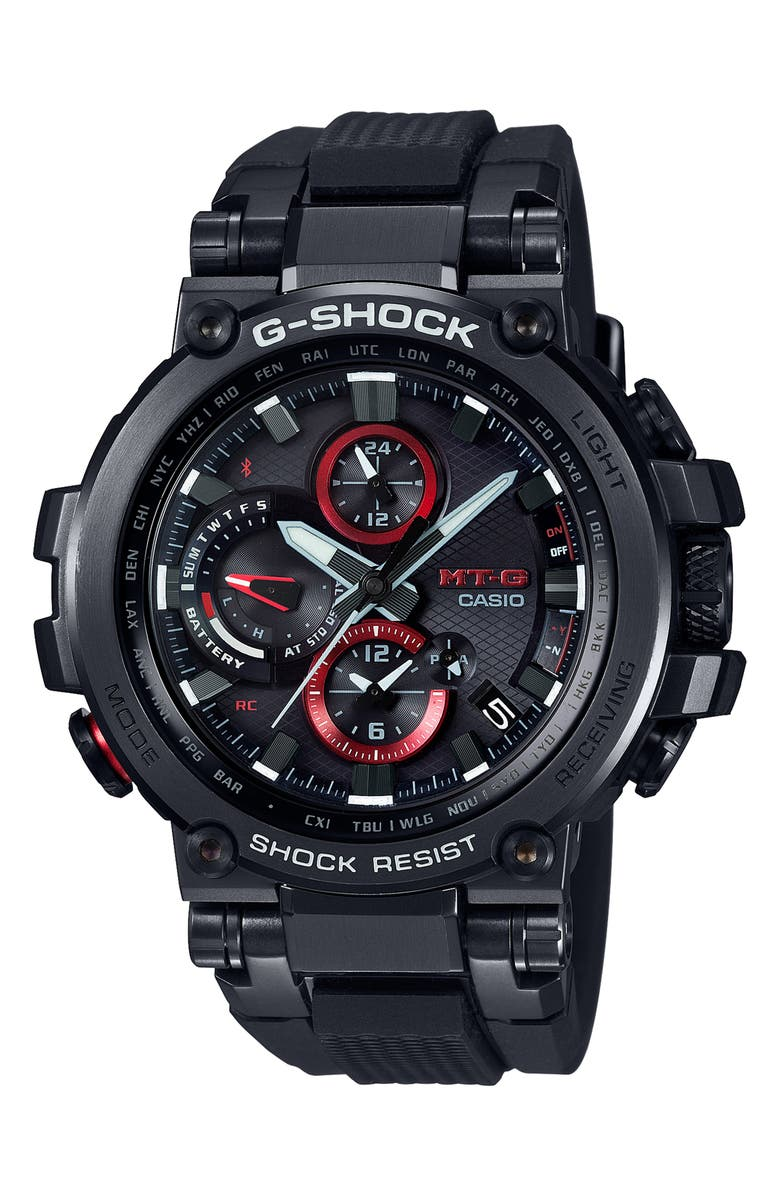 G-SHOCK BABY-G Analog Casio MT-G Watch, 52mm, Main, color, 001