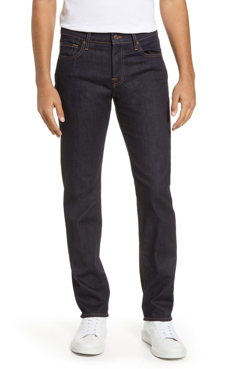 7 FOR ALL MANKIND<SUP>®</SUP> Luxe Slimmy Straight Leg Jeans, Main, color, 422