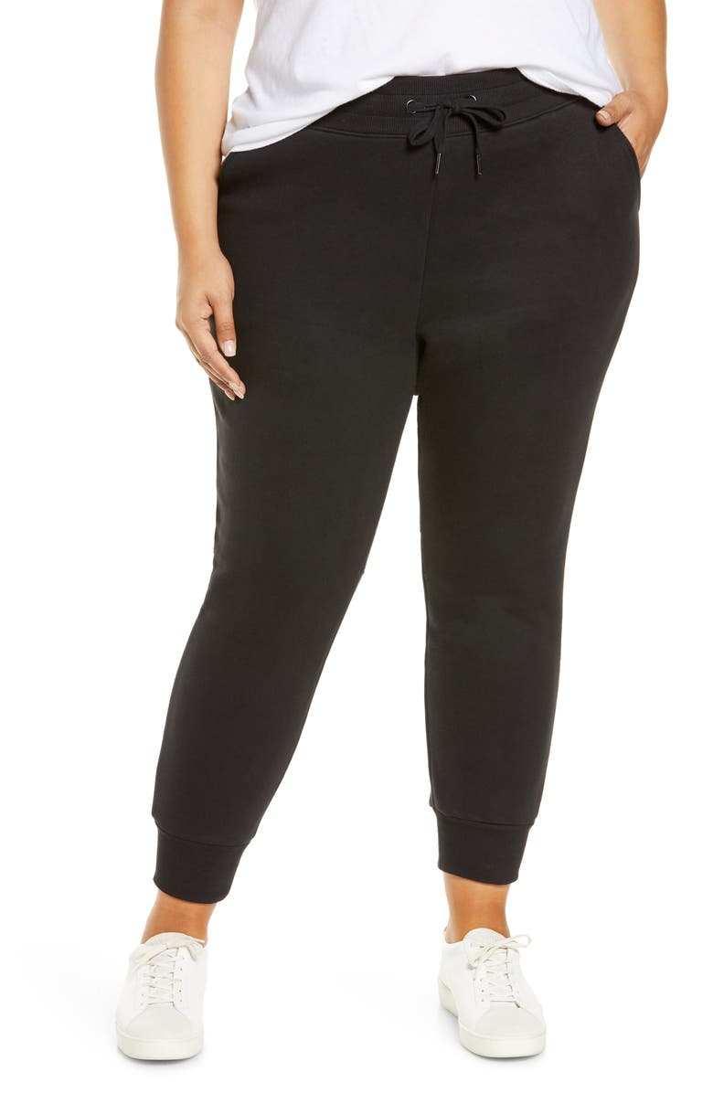 ZELLA Cara Pocket Joggers, Main, color, BLACK