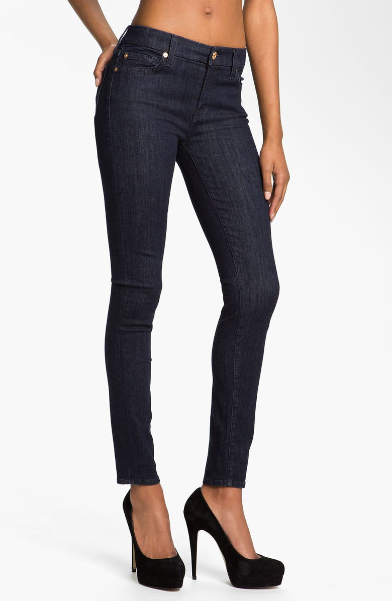 7 FOR ALL MANKIND<SUP>®</SUP> 'Slim Illusion' Skinny Stretch Jeans, Main, color, 400