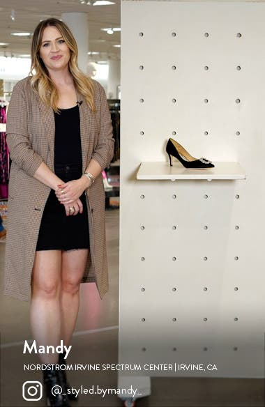 Carrie Crystal Embellished Pump, sales video thumbnail
