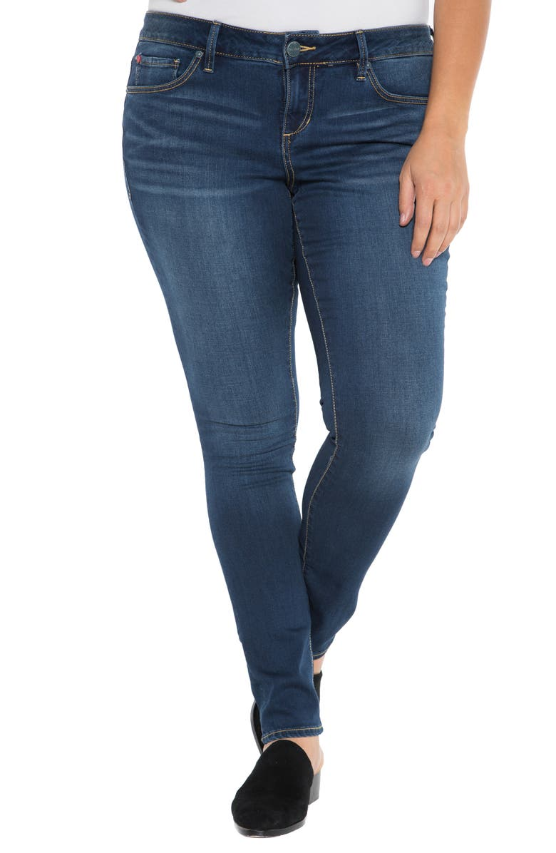 SLINK JEANS 'The Skinny' Stretch Denim Jeans, Main, color, 402