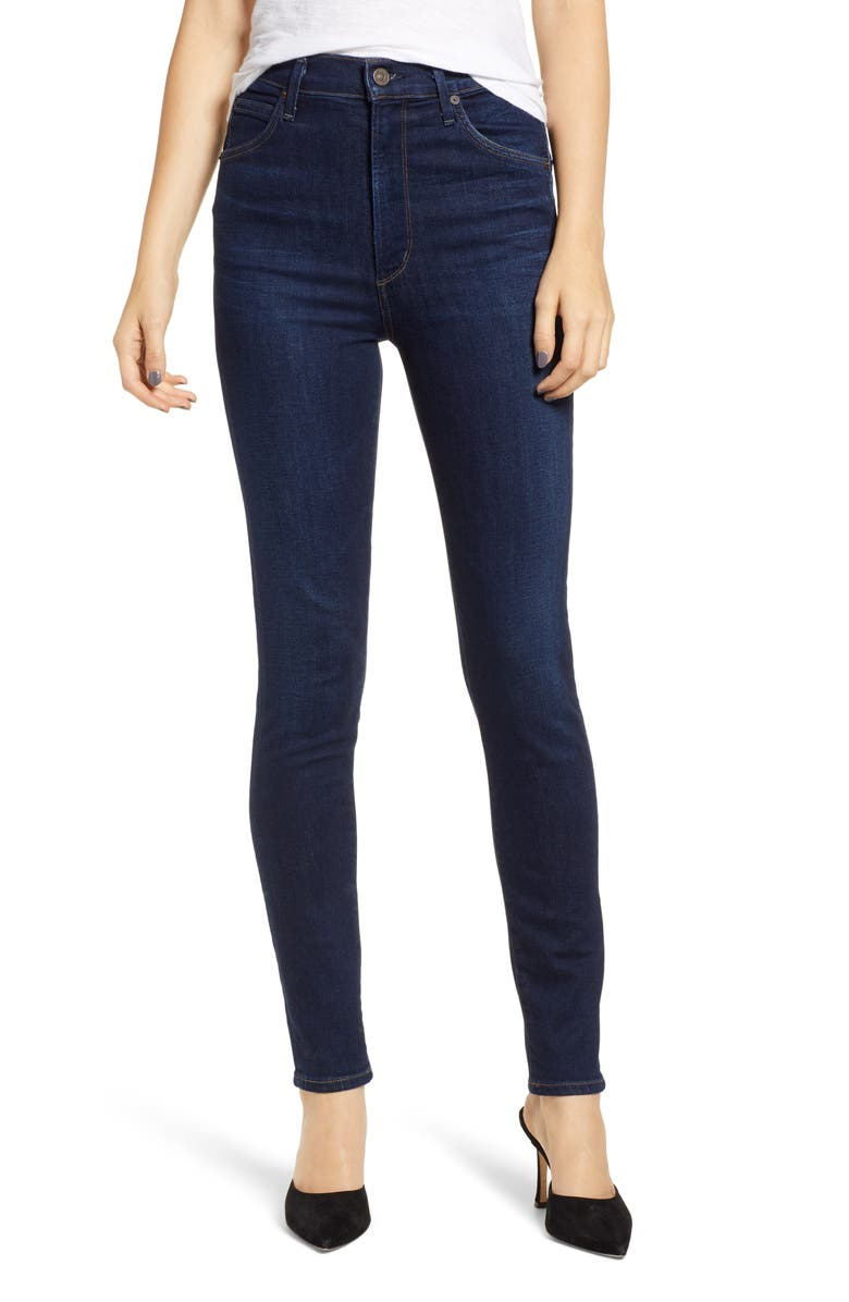 CITIZENS OF HUMANITY Chrissy High Waist Skinny Jeans, Main, color, 484