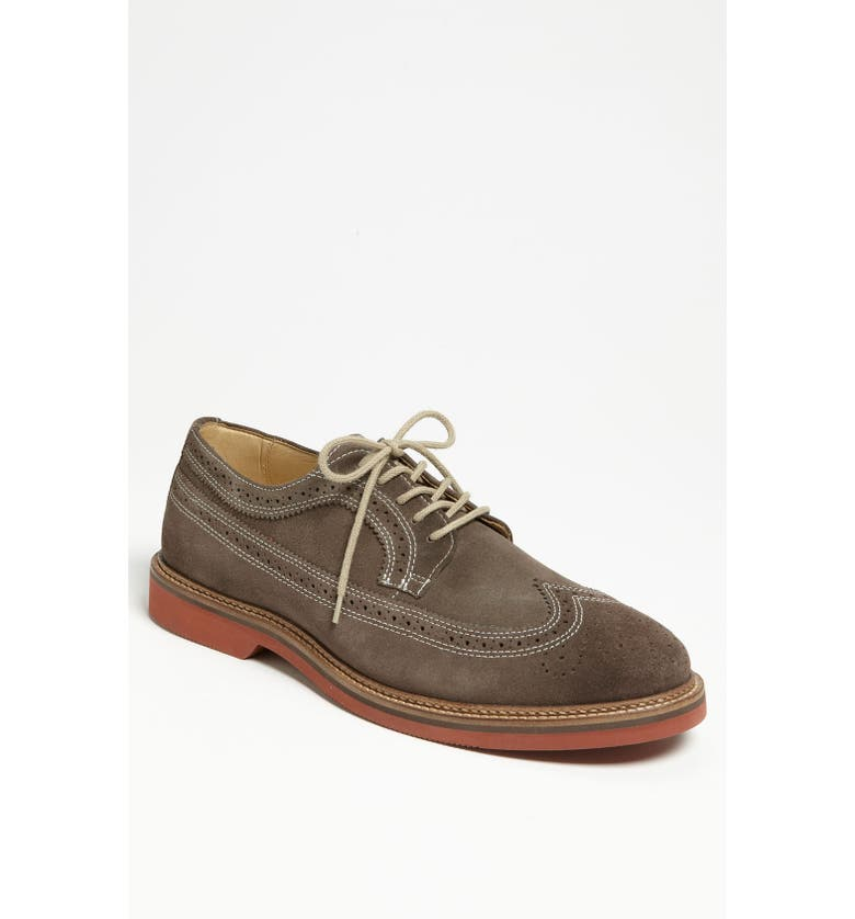 1901 'Wing It' Suede Oxford, Main, color, 021