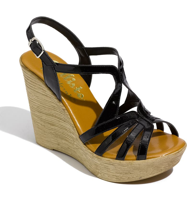 CALLISTO 'Tiara' Wedge Sandal, Main, color, 002