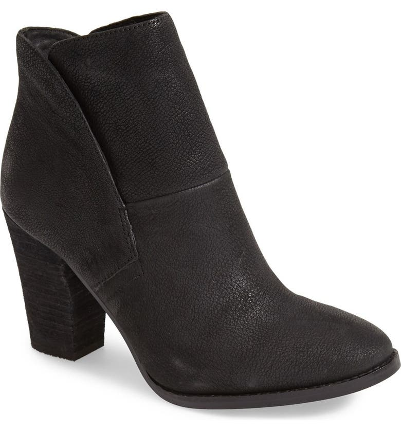 VINCE CAMUTO 'Ristin' Leather Bootie, Main, color, Black