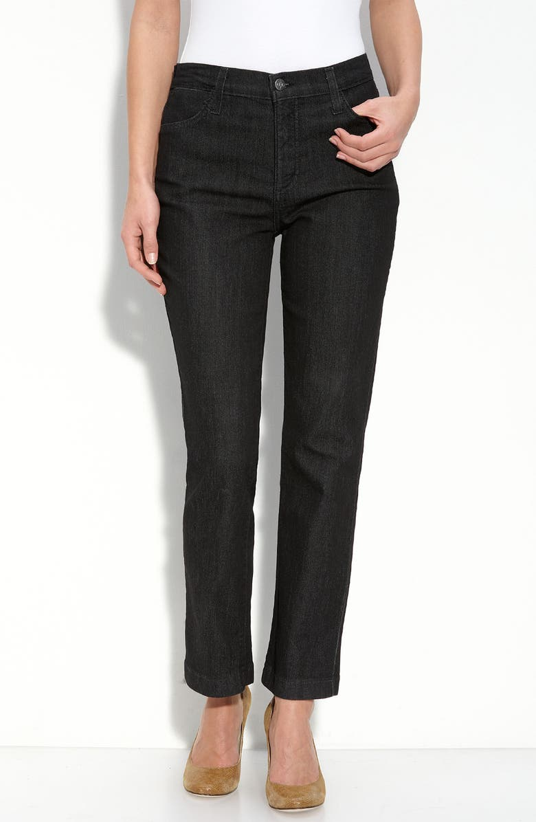 NYDJ Not Your Daughter's Jeans<sup>®</sup> Stretch Ankle Jeans, Main, color, 001