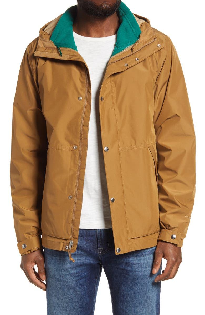 THE NORTH FACE Waterproof TriClimate<sup>®</sup> Bronzeville Jacket, Main, color, UTILITY BROWN