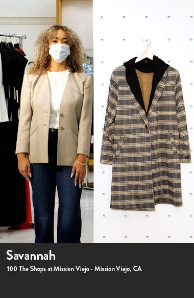 Knit Coat with Removable Hood, sales video thumbnail
