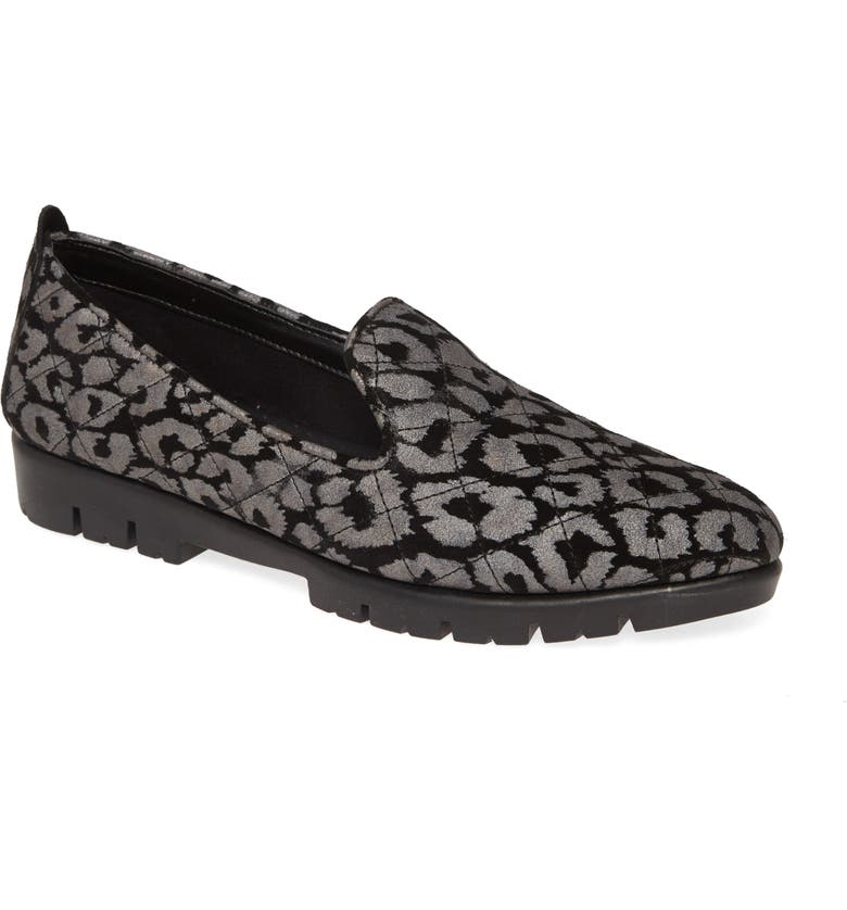 THE FLEXX Quilt Smoking Loafer, Main, color, 001