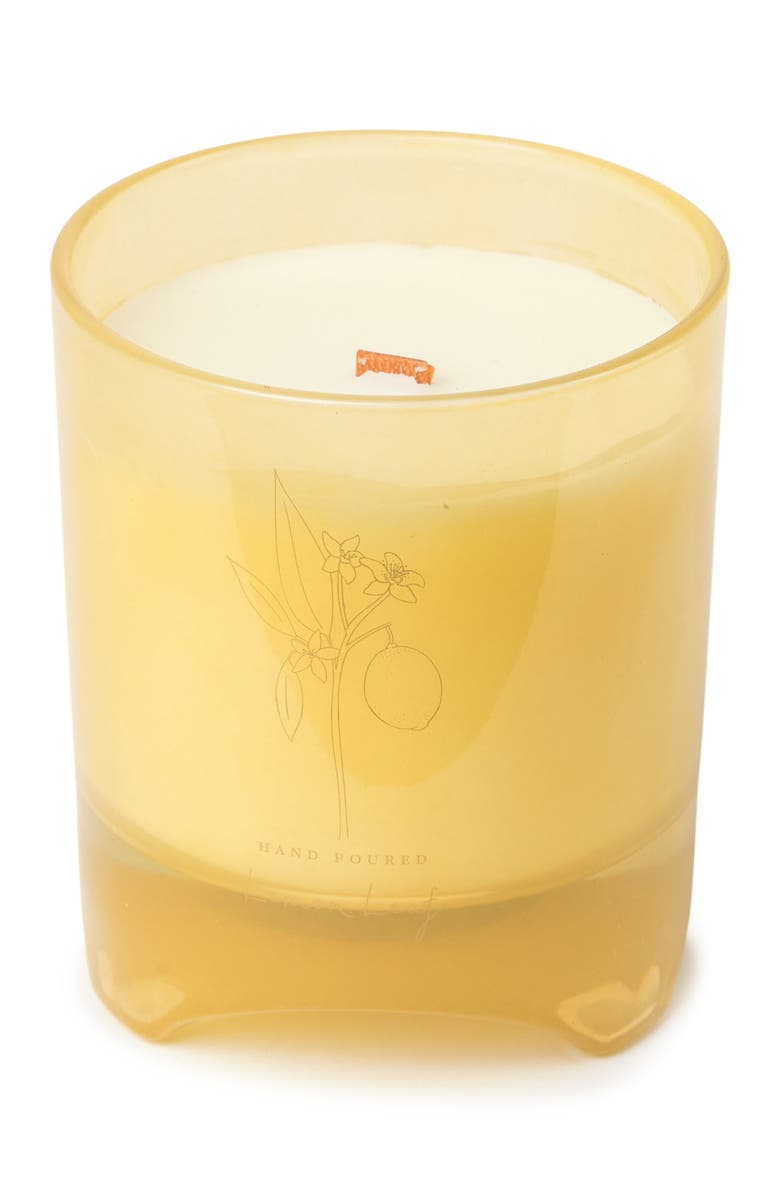 DW HOME Blomma Yellow 12 oz. Lemon Candle, Main, color, YELLOW