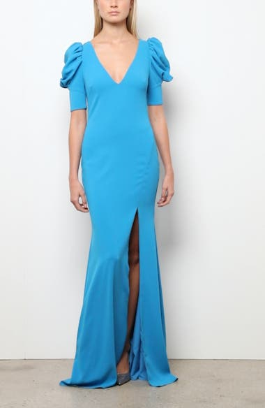 Odessa Puff Sleeve Gown, video thumbnail
