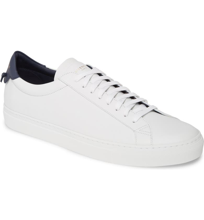 GIVENCHY Urban Knots Low Top Sneaker, Main, color, WHITE/ NAVY