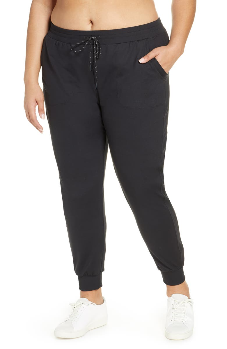 ZELLA Live In Pocket Joggers, Main, color, BLACK