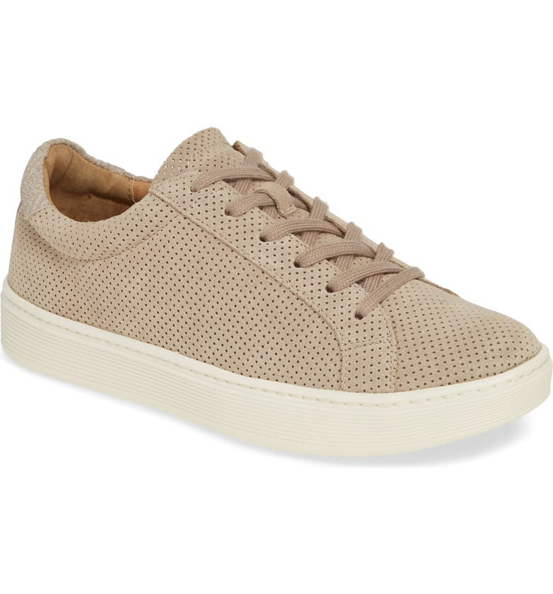 SÖFFT Somers Perforated Sneaker, Main, color, 030
