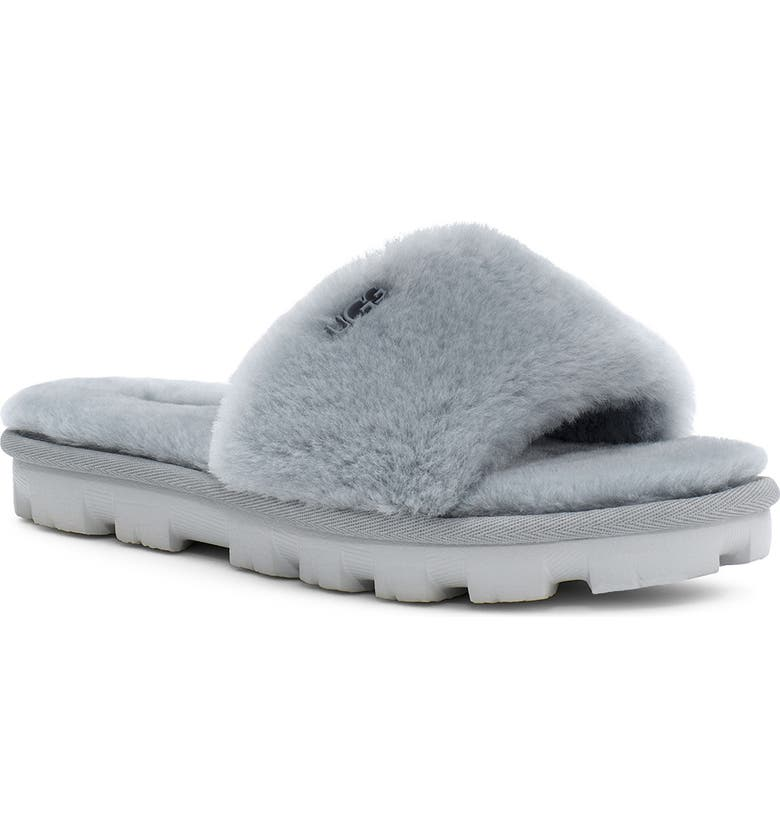 UGG<SUP>®</SUP> Cozette Genuine Shearling Slipper, Main, color, 030