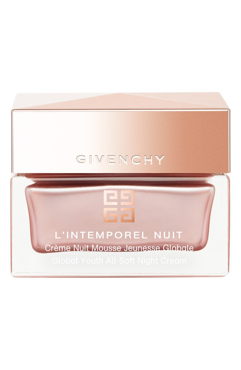 GIVENCHY L'Intemporel Global Youth All-Soft Night Cream, Main, color, No Color